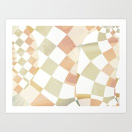 Wood and Tile Art Print