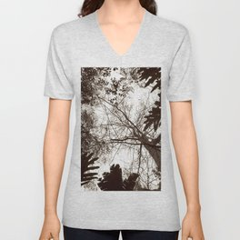 Memories of Endor 1 (B&W) Unisex V-Neck