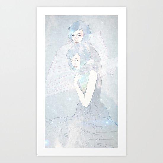 double universe Art Print