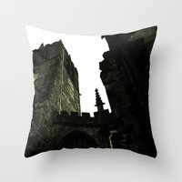 religious Throw Pillows featuring Religious Perspectives by Glanoramay
