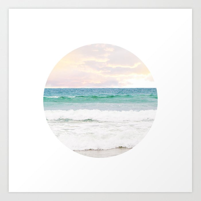 Ocean Crop Art Print