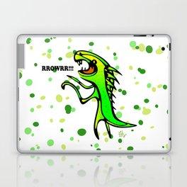 The Dinosaur says... RRRROOOWWRRR! Laptop & iPad Skin