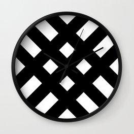 dijagonala v.2 Wall Clock