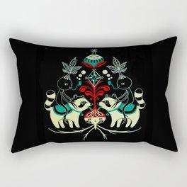 Mandragora and racoon. Rectangular Pillow