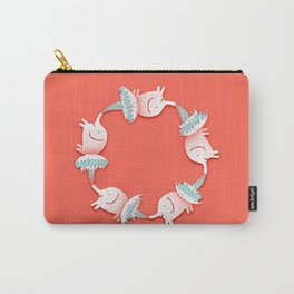 Keep The Fun Going Quote Print Carry-All Pouch