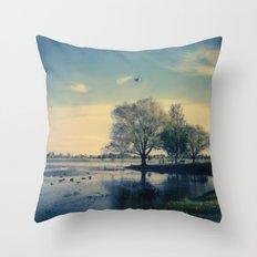 Lake Wendouree Throw Pillow