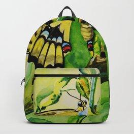 Lime Tree Butterfly II Backpack