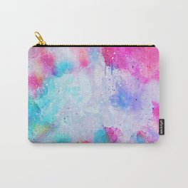 Abstract Watercolor paint Carry-All Pouch