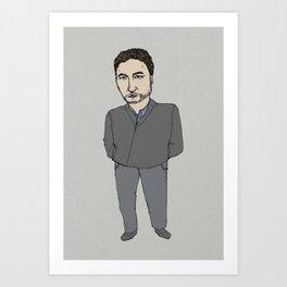 seriese-TV Art Print