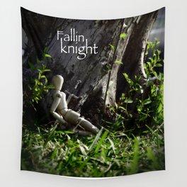 fallin knight  Wall Tapestry