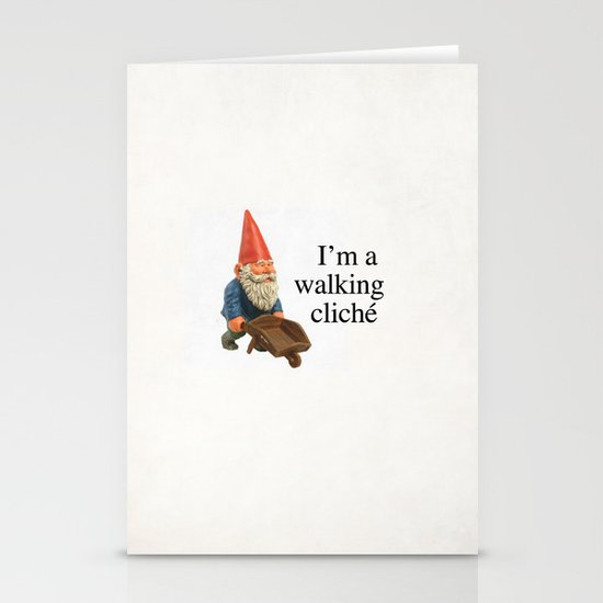 Walking Cliché Stationery Cards