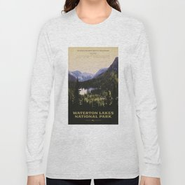 Waterton Lakes National Park Long Sleeve T-shirt
