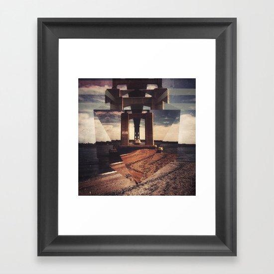 mnt hpe Framed Art Print