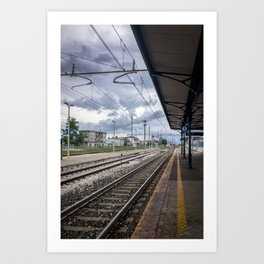 The Last Train To The Coast Art Print