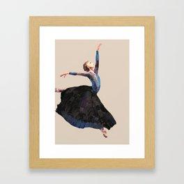 Freedom in dance Framed Art Print