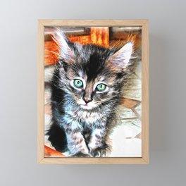 The Cuteness Factor Framed Mini Art Print