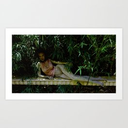 Bush Babe Art Print