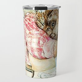 Mrs. Tiggywinkle by Beatrix Potter Travel Mug