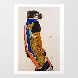 Egon Schiele - Moa Art Print