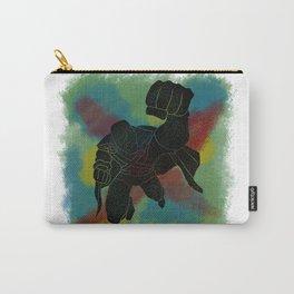 Martian Manhunter Splatter Background Carry-All Pouch