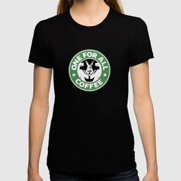 One For All Coffee T-shirt