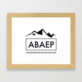 ABAEP Black Framed Art Print