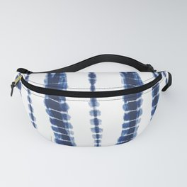 Indigo Blue Tie Dye Delight Fanny Pack