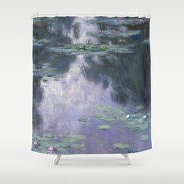 Water Lilies (Nymphéas) Shower Curtain