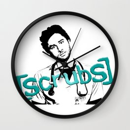 Scrubs JD Wall Clock