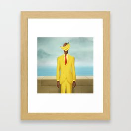 BananaTV x Magritte Framed Art Print