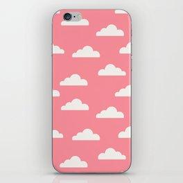 Clouds Pink iPhone Skin