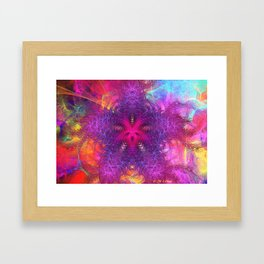 Two Forms Combined Framed Art Print