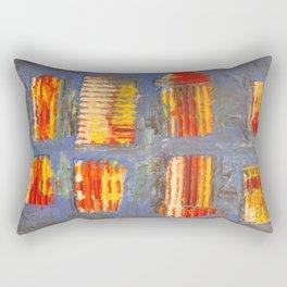 Colourful City Rectangular Pillow