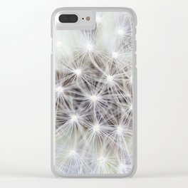 Dandelion Clear iPhone Case