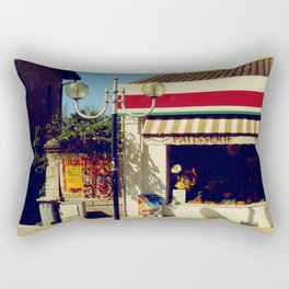 French Village Bakery Rectangular Pillow