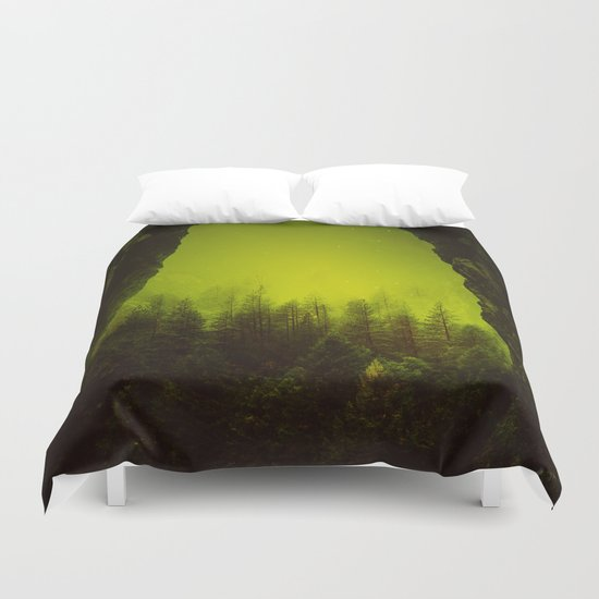 Toxic Forest Duvet Cover