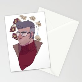 The Author of the Journals Stationery Cards