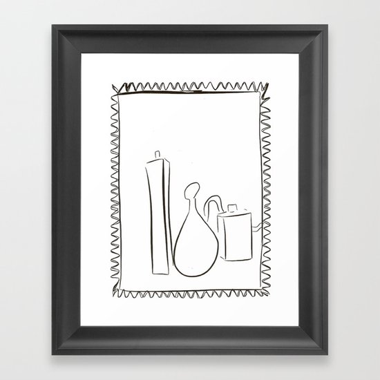 Perfume Framed Art Print