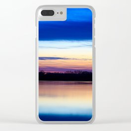 Almost after dark Clear iPhone Case