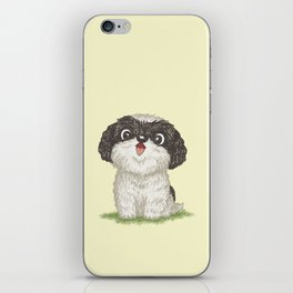 Shih Tzu happy iPhone Skin