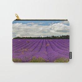 Lavender Landscape Carry-All Pouch
