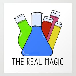 Science - The Real Magic Art Print