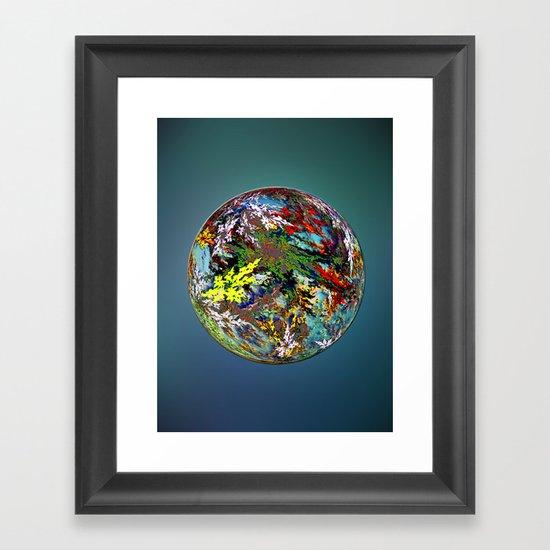 Hippies' Planet Framed Art Print