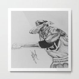 Air Jordan Metal Print