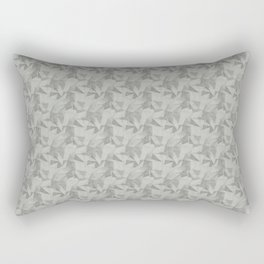 Abstract Geometrical Triangle Patterns 2 Benjamin Moore 2019 Color of the Year Metropolitan Light Rectangular Pillow
