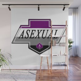 Identity Stamp: Asexual Wall Mural