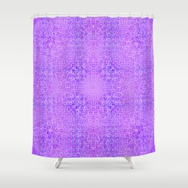 Brian's Bubbliscious Pattern (Grape Fizz) Shower Curtain