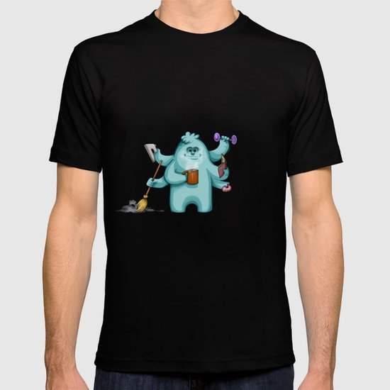 Multitasking Monster T-shirt