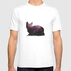 Willow the Galaxy Cat! White Mens Fitted Tee MEDIUM