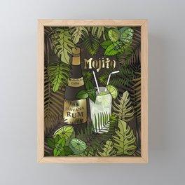 Mojito Framed Mini Art Print